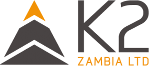 K2 Construction Zambia Steel structure Logo